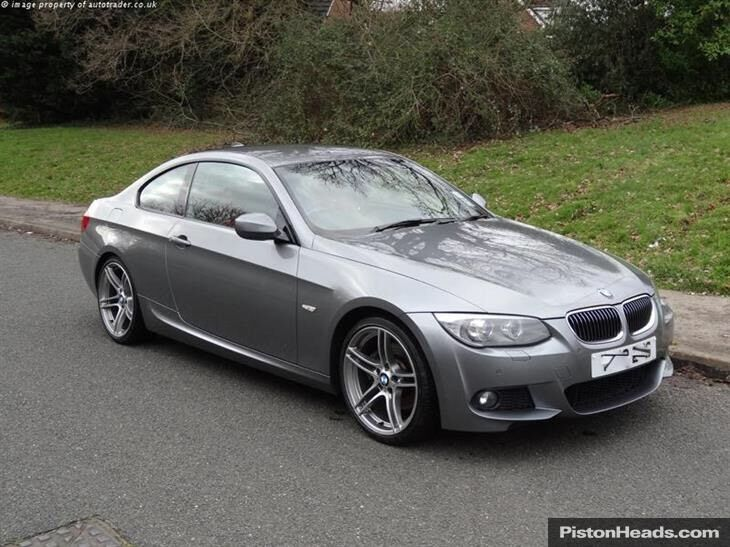 bmw 330i m sport 2010 e92 coupe grey 3 0 in burbage. Black Bedroom Furniture Sets. Home Design Ideas