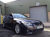 BMW 535D M SPORT TOURING - FULLY HEATED LEATHER SEATS - SAT NAV