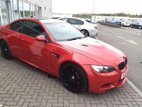 BMW M3 Melbourne Red