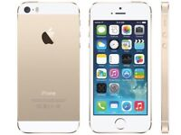 Iphone 5s gold 16gb unlocked boxed
