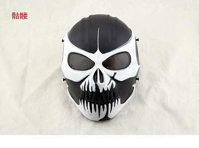 Outdoor Tactical Gear Airsoft Paintball Full Face Protection Cacique Mask C
