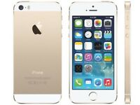 Iphone 5s gold unlocked 16gb boxed