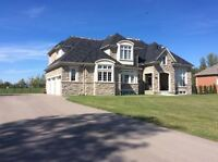 Executive Home With WALL to WALL views of LAKE Simcoe for Rent