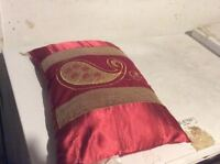 Red & Golden Style Soft Comfortable Small Sofa Pillow