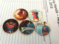 superman spiderman coins, lot of  5
