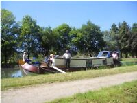 dutch barge London houseboat canal narrowboat PRICE REDUCED
