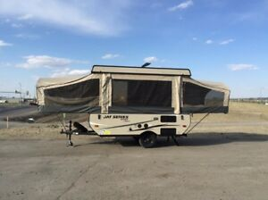 Tent trailer for summer rental