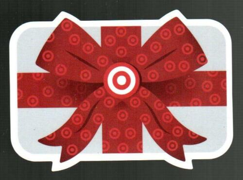 TARGET Red Ribbon Bow 2020 Die-Cut Gift Card ( $0 )