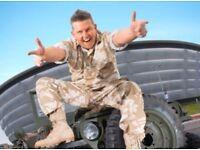 Gary Tank Commander Fri 21st Oct SSE Hydro
