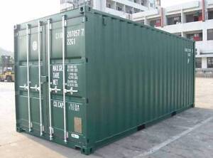 New 20' Containers landed in Cessnock for 3150 ex GST. Cessnock Cessnock Area Preview
