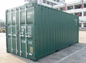 New 20' Containers landed in Grafton for 3150 ex GST. Grafton Clarence Valley Preview