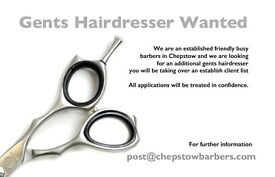 Qualified Mens Hairdresser wanted
