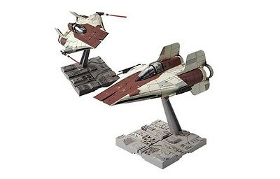 BANDAI Star Wars A-Wing Star Fighter (Starfighter) 1/72 scale Plastic Model Kit