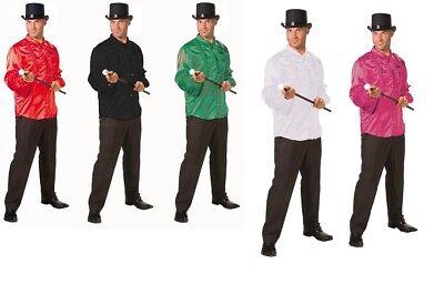 Rüschenhemd Satinhemd Varietétheater Tänzer Show Kostüm für - Kostüme Für Tänzer
