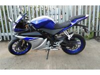 Yamaha YZF R125 learner CBT road legal (not wr125x, wr125, cbr125)