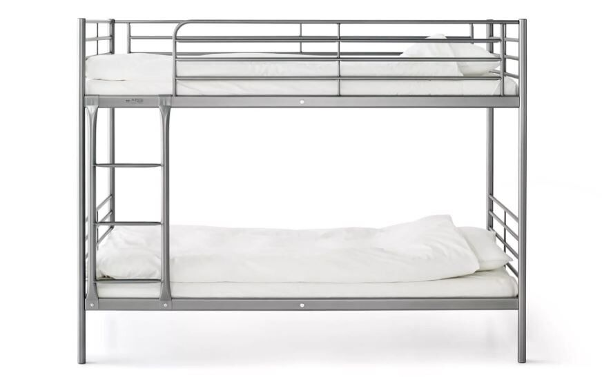 Ikea Used Bunk Bed Frame Silver Colour In Slough Berkshire Gumtree