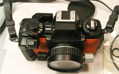 NIKON Nikonos V Underwater Camera with 35mm f2.5 Nikkor Lens Super Clean