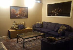 Fully furnished room in fully furnished basement