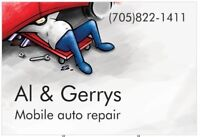 Mobile Al & Gerry's mobile auto repair