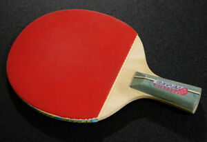 Table tennis racket. Made in Japan. Standard and Pen-Hold