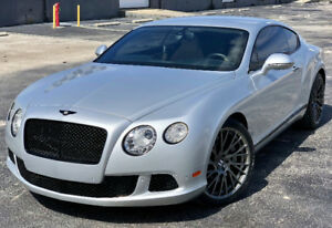 2012 Bentley Continental GT Mulliner Edition Coupe (2 door)