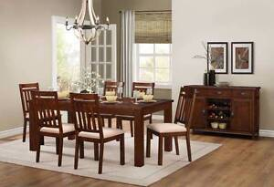 Brand New 7pce Santos Dining Suite ( Extension Dining Table ) Wangara Wanneroo Area Preview