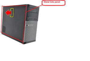 Wanted Dell 3010 Metal Side Panel/Case. AND an ATX Case. See Ad!