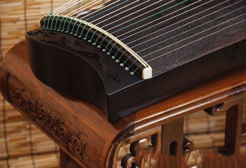 "39"" Gu Zheng Harp Traditional Chinese Musical Instrument Chinese Zither #t041"