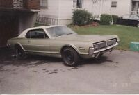 1968 COUGAR XR7 PROJECT