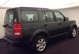LAND ROVER DISCOVERY 3 2.7 TD V6 7 SEAT XS HSE LUXURY GS SE FROM £67 PER WEEK!
