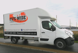 Fife-Wide 2 Man and Van service (Urgent , Last minute Welcome)