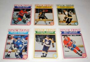 IN ACTION HOCKEY CARDS  OPC