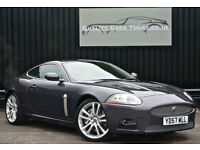 2008 MY Jaguar XKR 4.2 V8 Supercharged ( 420bhp ) Coupe *Pearl Grey + Ivory Perf