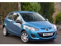Mazda Mazda2 1.3 2012MY TS Air Con 3dr Bahama Blue Metallic.