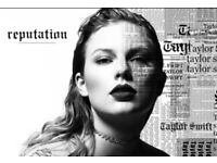 Taylor Swift Reputation Tour 6.22 London,2 tickets