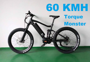 NEW WORLDS MOST POWERFUL 55kmh electric mountain bike 2019