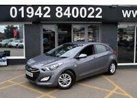 2012 62 HYUNDAI I30 1.4 ACTIVE 5D 98 BHP 6SP 5DR HATCH, GREY, 26-000M SH,