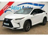 2016 66 LEXUS RX 3.5 450H F SPORT 5D 259 BHP