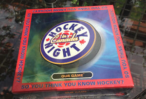 HOCKEY NIGHT IN CANADA  - BOARD GAME – (BRAND NEW)