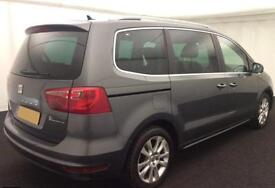 Seat Alhambra 2.0TDI DPF CR ( 140ps ) 2012MY SE Lux FROM £45 PER WEEK