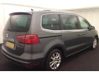 SEAT ALHAMBRA 2.0 TDI ECOMOTIVE S MPV SE LUXURY REFERENCE LUX FROM £45 PER WEEK