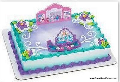 BARBIE ISLAND CupCake Decoration CAKE Topper Favors Birthday Supplies Princess - Princess Cake Decorating Supplies