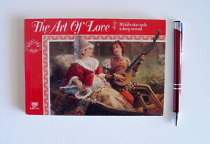 """The Art of Love"", Victorian Post Card Book"