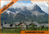 CANMORE VACATION CONDO FOR SALE IN SILVER CREEK LODGE