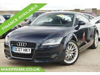 2007 07 AUDI TT 3.2 QUATTRO 3D 250 BHP FULL SERVICE HISTORY + JUST SERVICED