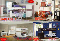 twin beds, mirror, site tables, chest, bedroom furniture sets