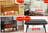 Sale End Soon, stools, benches,  vanities chairs, computer stool