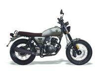 WK Bikes Scrambler 125cc 2020 New- Sold Out Pre order only
