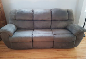 SOFA & LEATHER CHAIR FOR SALE