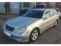 2004 (04) Mercedes-Benz 2.7TD CDI Avantgarde Estate Silver
